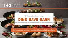 Offering the best value to all IHG®Rewards Club members, enjoy 10% savings off the 1-for-1 Lunch & Dinner buffet pricing and à la carte menu items at Window on the Park. Plus, you earn 250 IHG® Rewards points for every USD $25 spent. Find out more: https://bit.ly/3ixeiWL  #MondayMotivation #MotivationMonday #MarketingMonday