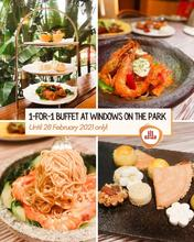 """""""Good food really tastes better when shared with someone special. So bring your special someone to @holidayinnsporeorchardcityctr because Windows on the Park is having a 1-for-1 buffet! Reserve a table and try EVERYTHING."""" - @halalfoodhunt  Don't miss the chance to try our Chinese New Year themed a-la carte buffet at Window on the Park! Reserve now:  http://bit.ly/ReunionsatWOP  #LunarNewYear #CNY #SalesSaturday #ShoutoutSaturday """