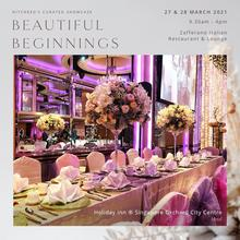 Every wedding should mark the start of a beautiful beginning. Connect with us on 27 & 28 March 2021, 9.30am to 4pm at Hitcheed's Curated Showcase - Beautiful Beginnings.   RSVP today! https://rsvp.hitcheed.com/  #hitcheed #weddingwonderland #sgwedding #singaporewedding #weddingsingapore #weddingvenue #weddinginspiration #sgbrides #weddingdream #weddingwednesday #wednesdaywedding